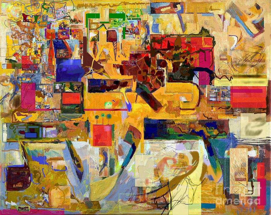 Torah Digital Art - You Graciously Endow Man With Wisdom 16f by David Baruch Wolk