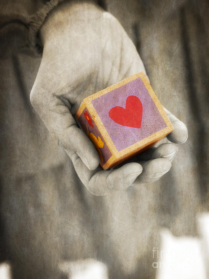 Lover Photograph - You Hold My Heart In Your Hand by Edward Fielding