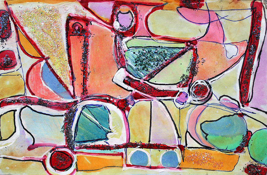 Abstract Painting Painting - Youll Know When You Get There by Hari Thomas