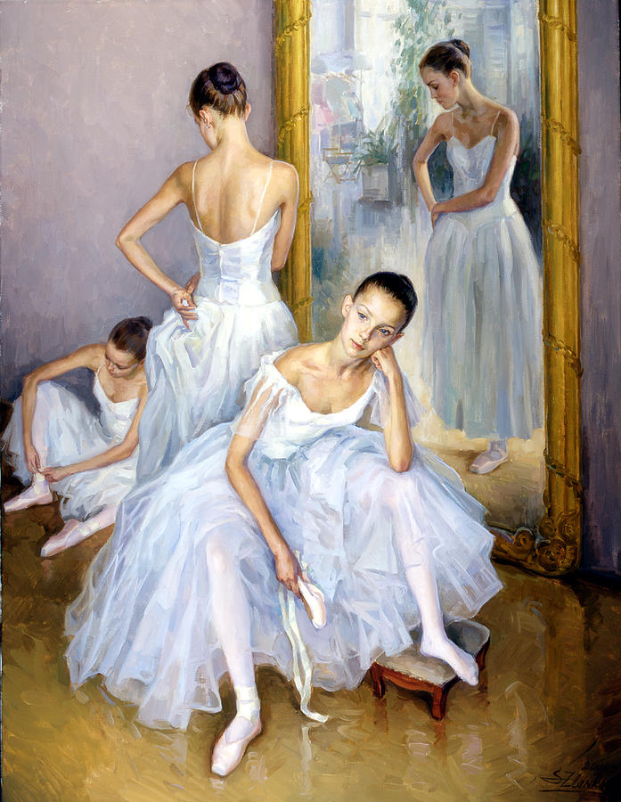 Artist Who Painted Ballerinas