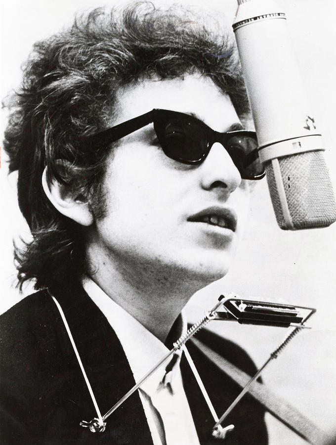 Retro Images Archive Photograph - Young Bob Dylan by Retro Images Archive