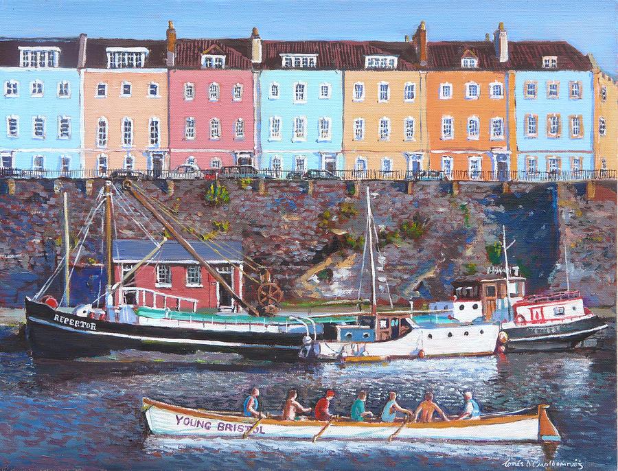 United Kingdom Painting - Young Bristol by Tomas OMaoldomhnaigh