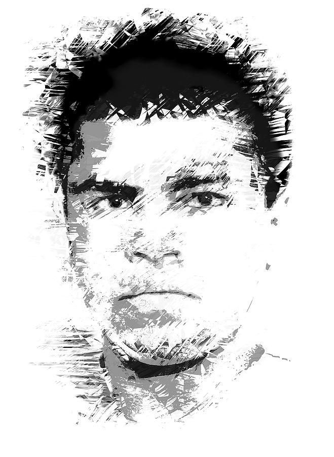 Muhammad Ali Digital Art - Young Cassius Clay by Daniel Hagerman