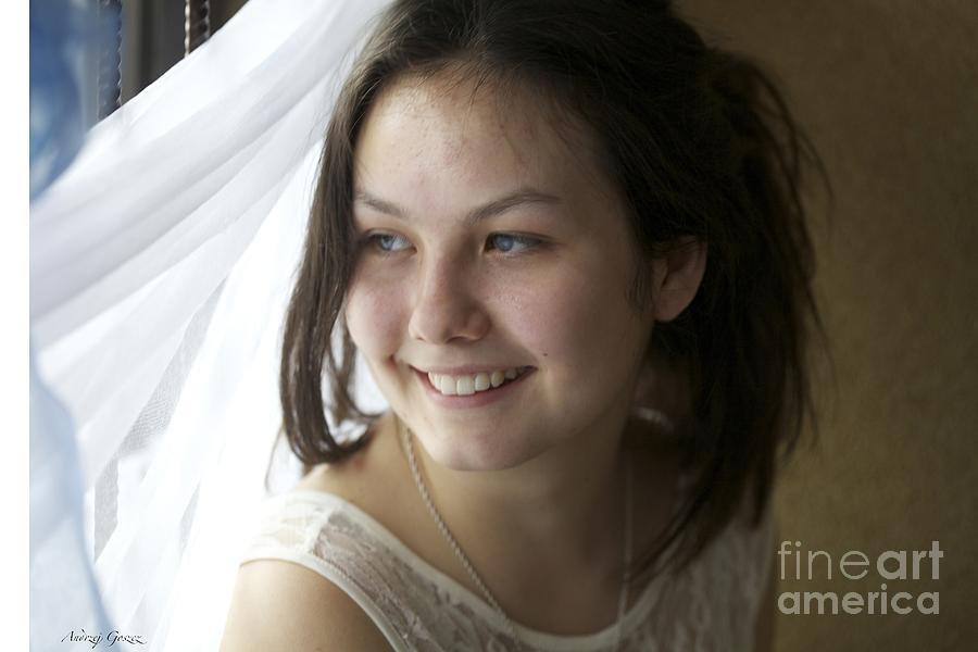 Young Lady......kazdy Z Nas Nosi W Sobie Piekno. Cala Sztuka Polega Na Tym By Umiec Je Odkryc. Photograph by  Andrzej Goszcz