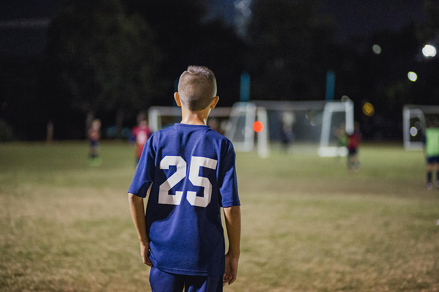 Young Soccer Player Photograph by SolStock