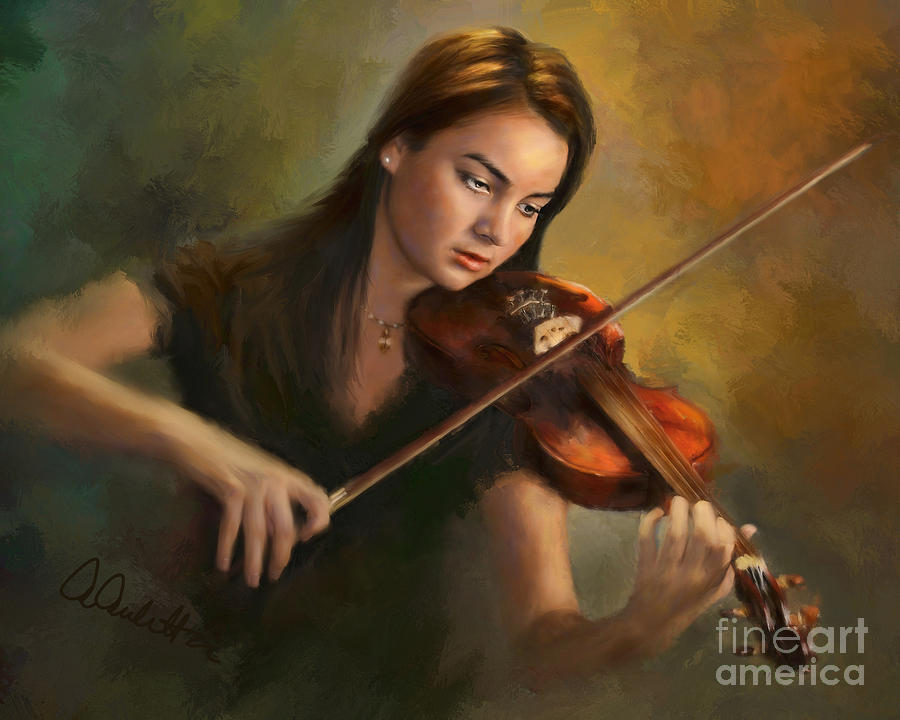 Young Soloist by Andrea Auletta