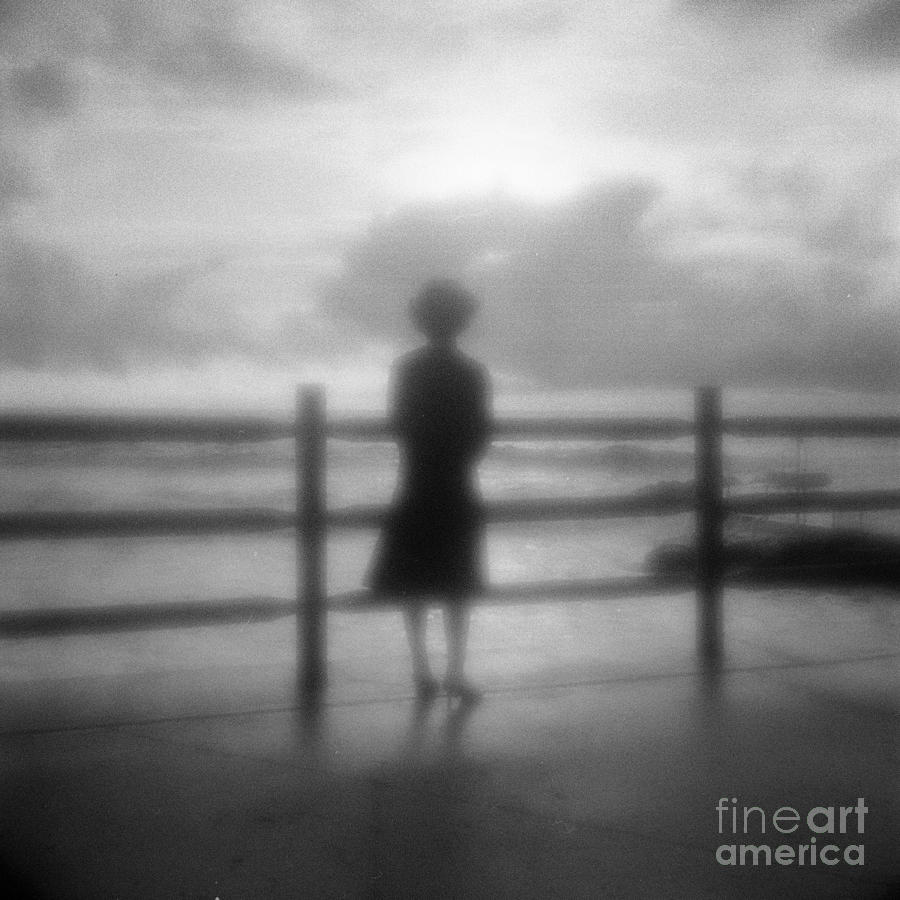 Australia Photograph - Young Woman By Sea Early Morning by Colin and Linda McKie