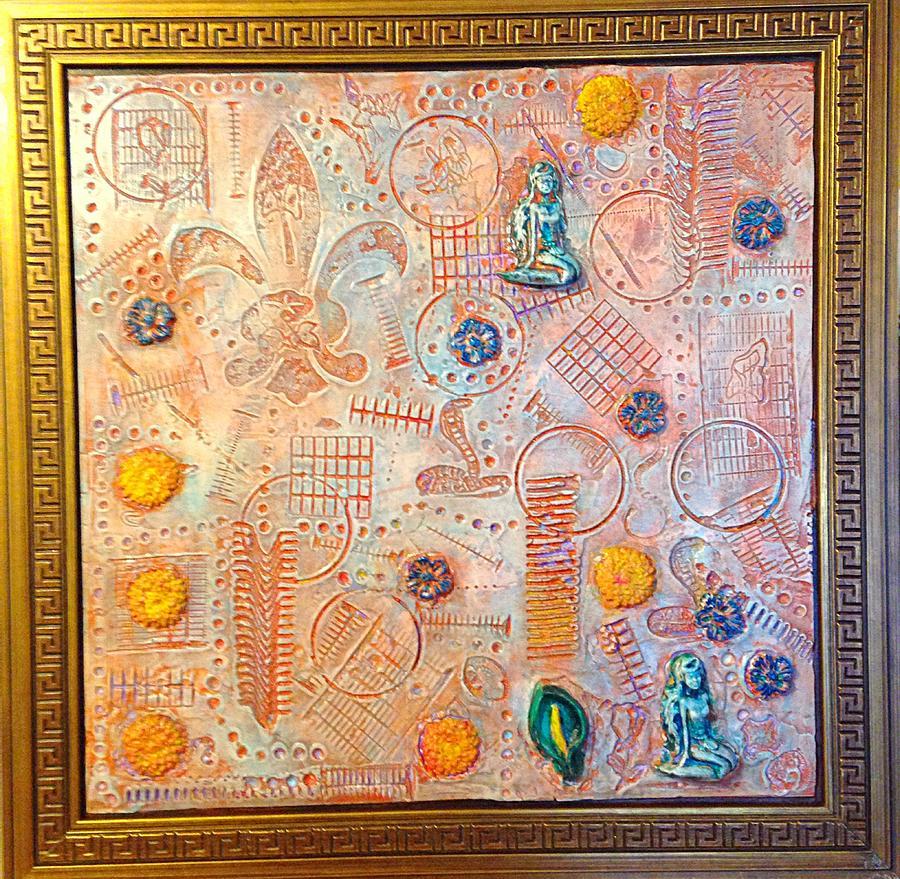 Alfredo Garcia Painting - Your Decepting Confusing Lies By Alfredo Garcia Art by Alfredo Garcia