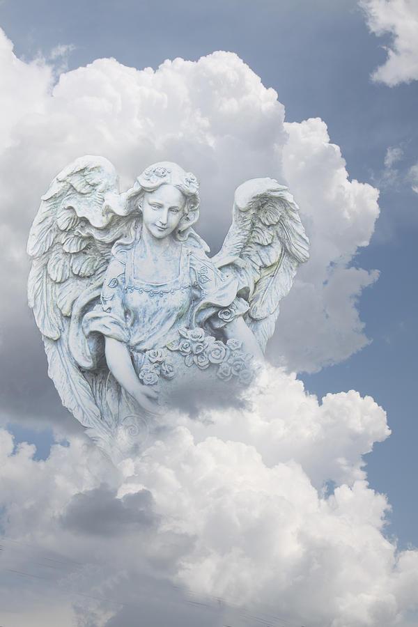 Your Heavenly Angel Digital Art By Linda Phelps