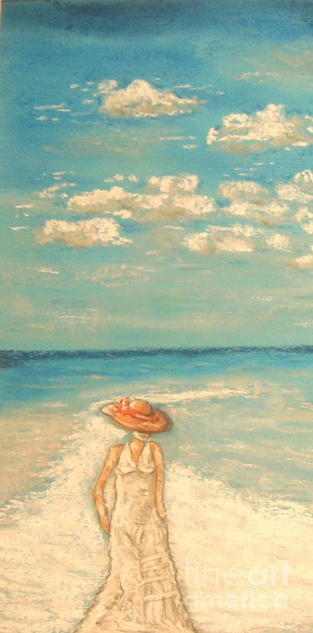 Tropical Painting - Your Kiss by The Beach  Dreamer