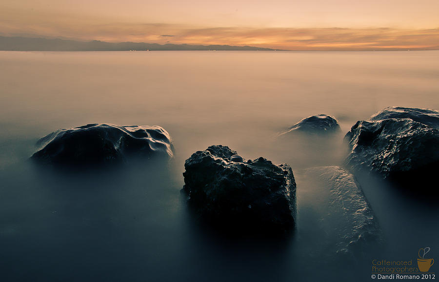 Seascape Photograph - Your Life Is An Island by Mario Dandi Romano