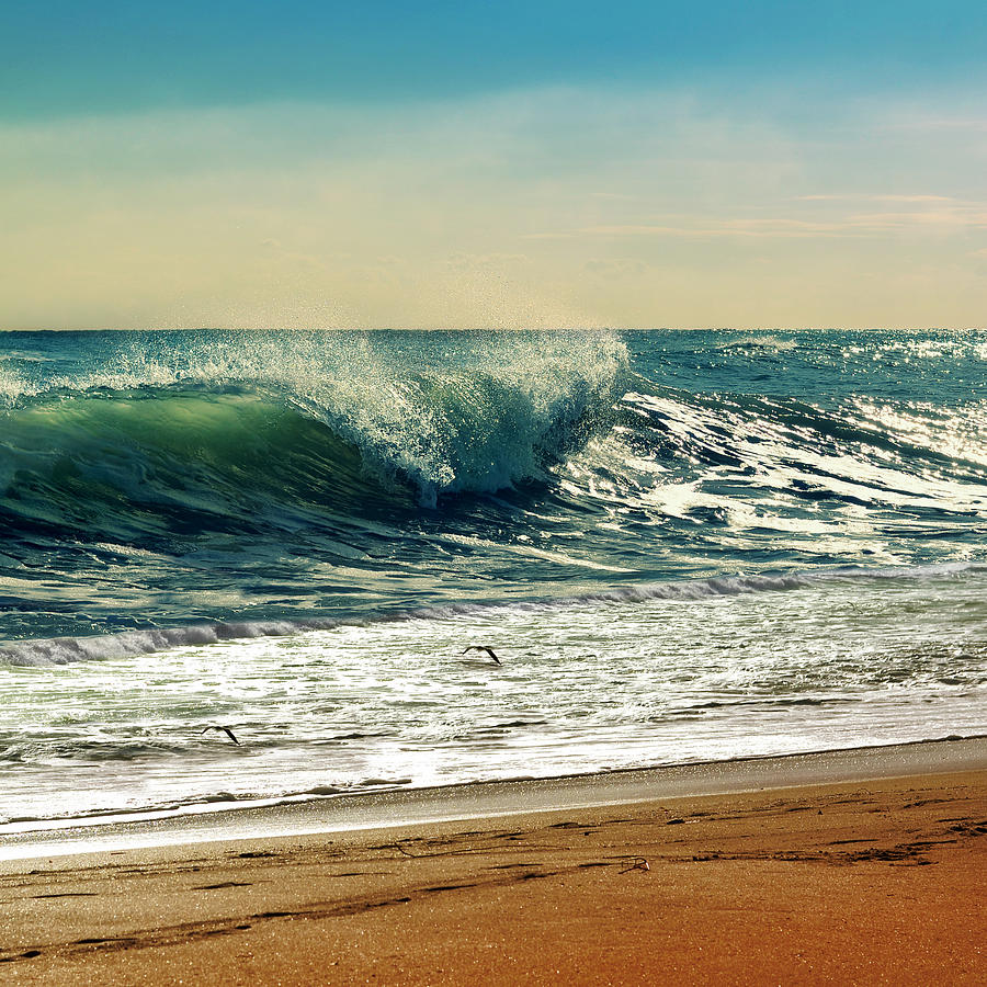 Waves Photograph - Your Moment Of Perfection by Laura Fasulo