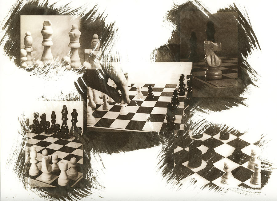 Chess Photograph - Your Move by Caitlyn  Grasso