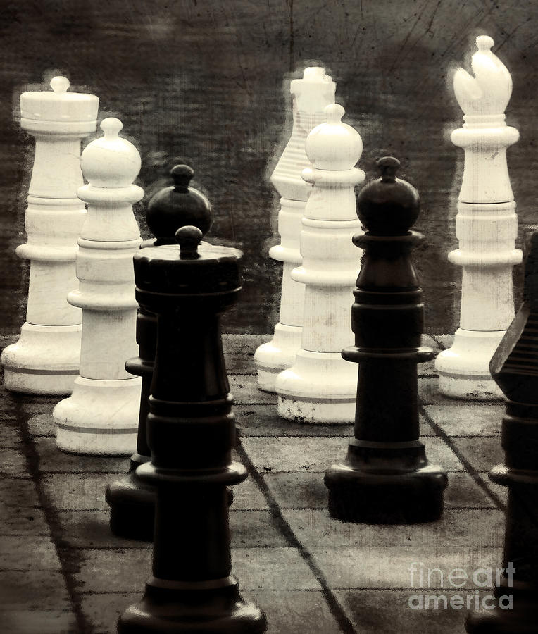 Chess Photograph - Your Move by Colleen Kammerer