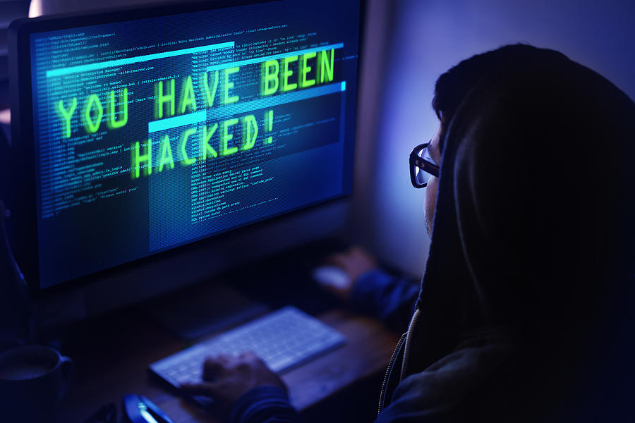 Youve Been Hacked! Photograph by Yuri_Arcurs