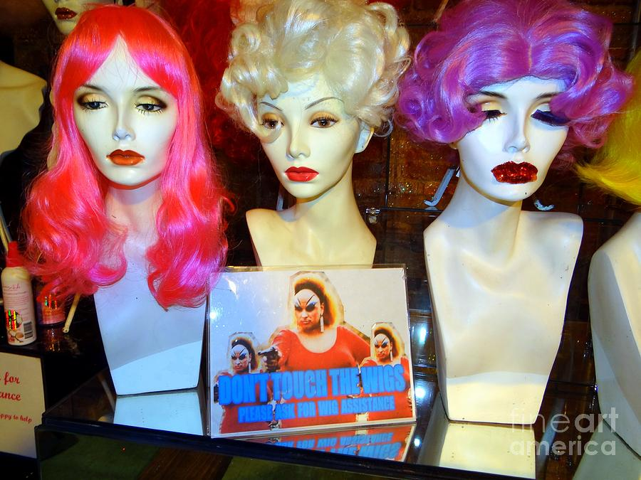 Mannequins Photograph - Youve Been Warned by Ed Weidman