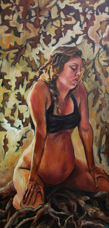 Youve Got Roots Painting by Amanda Greavette