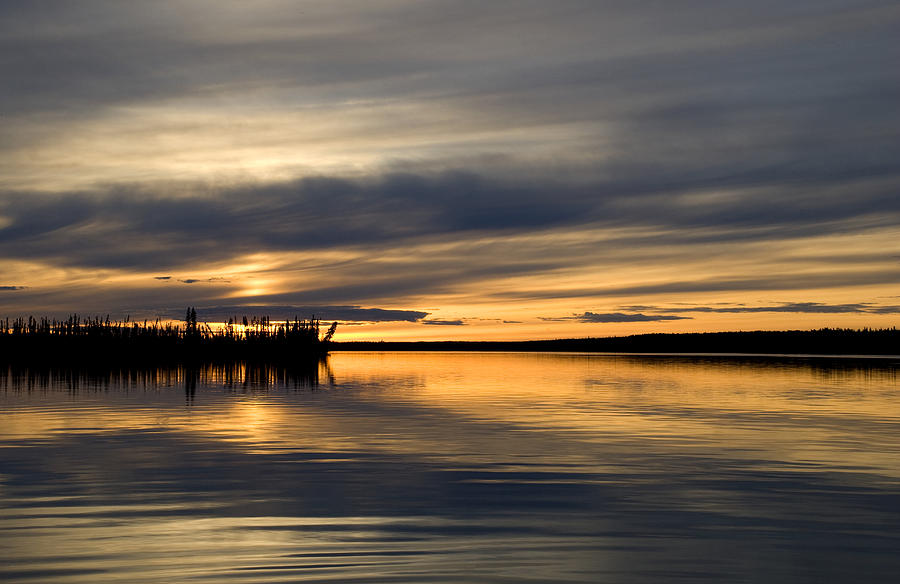 Lake Photograph - Yukon Sunset by Jessica Wakefield