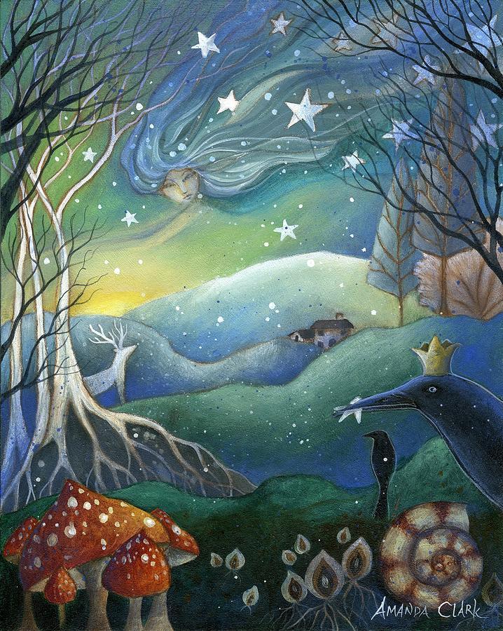 Yule Painting By Amanda Clark