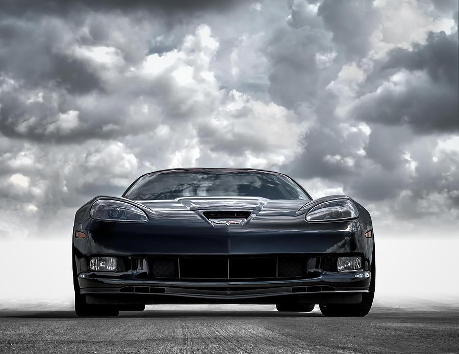 Corvette Digital Art - Z06 by Douglas Pittman