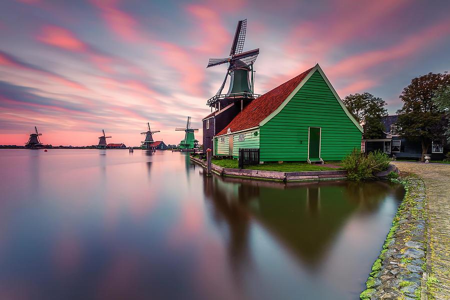 Holland Photograph - Zaanse Schans by Carlos M. Almagro