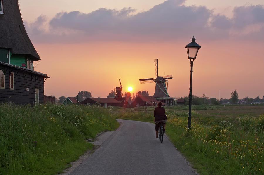 Zaanse Schans Windmills Photograph by Ivan