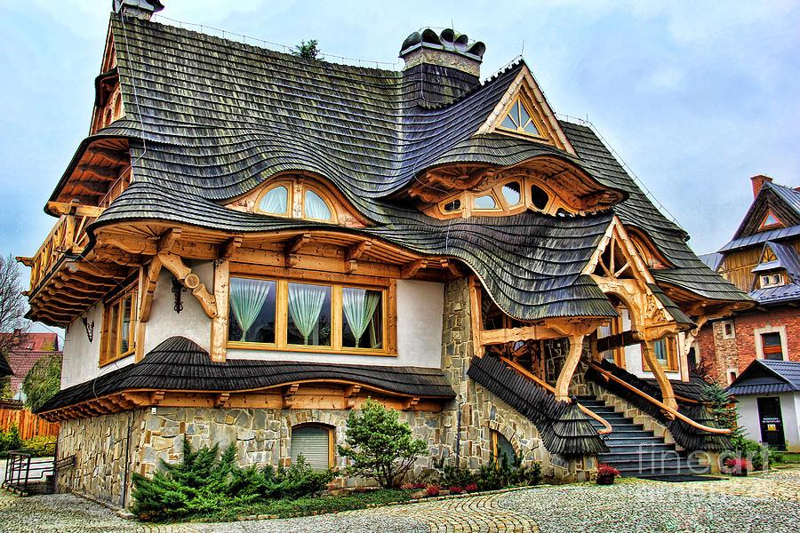 Zakopane Cottage Photograph By Mariola Bitner