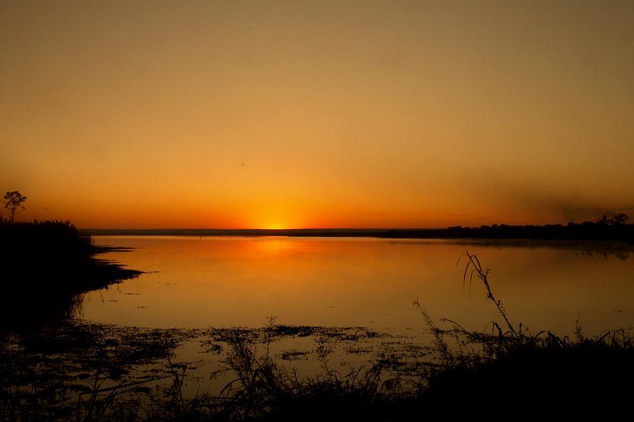 Sun Rise Photograph - Zambian Sunrise by Martin Michael Pflaum