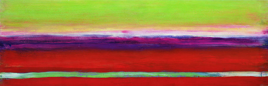 Abstract Painting - Zanja by Lou Gibbs