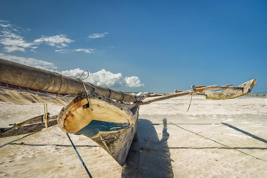 3scape Photograph - Zanzibar Outrigger by Adam Romanowicz