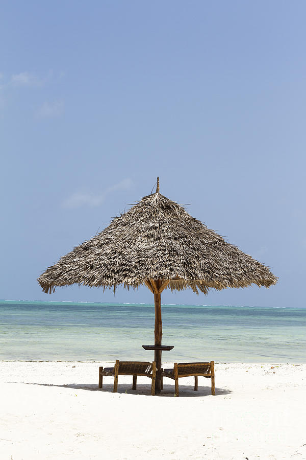 Parasol Photograph - Zanzibar by Pier Giorgio Mariani