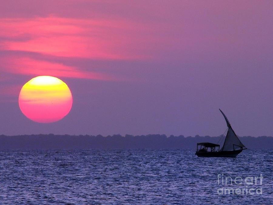 Zanzibar Photograph - Zanzibar Sunset 21 by Giorgio Darrigo