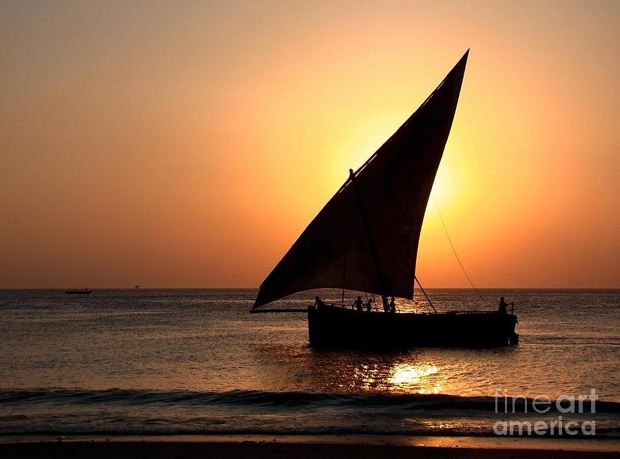 Zanzibar Photograph - Zanzibar Sunset 22 by Giorgio Darrigo