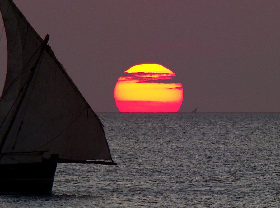 Zanzibar Photograph - Zanzibar Sunset by Giorgio Darrigo