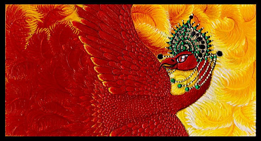 Firebird Painting - Zarya by N Larson