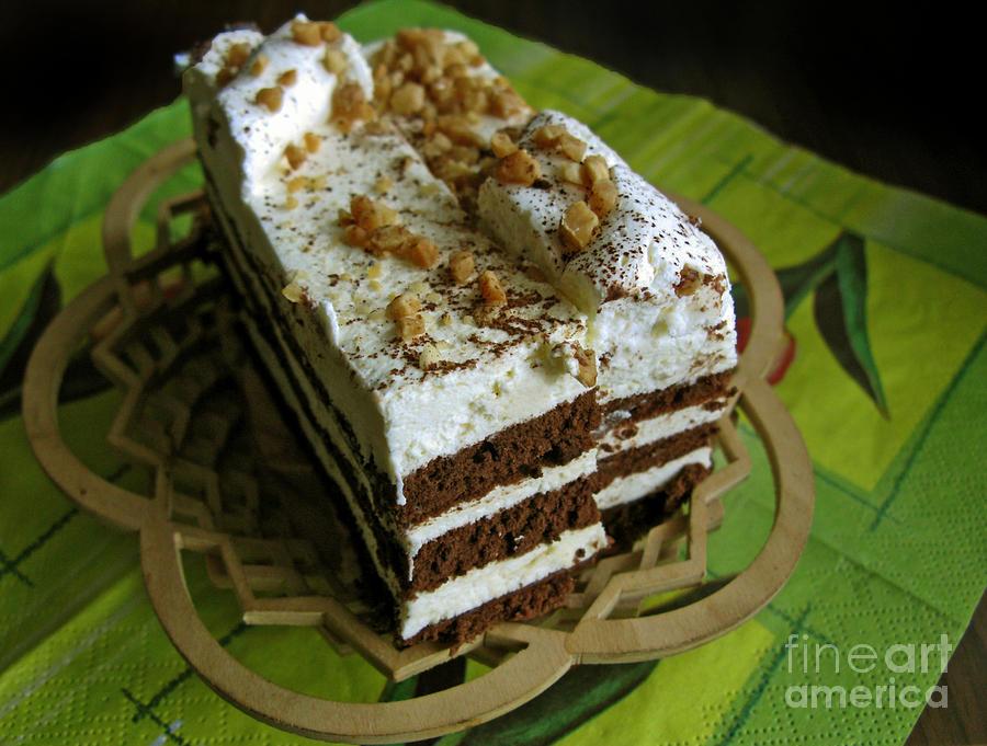 Cake Photograph - Zebra Cake by Ausra Huntington nee Paulauskaite