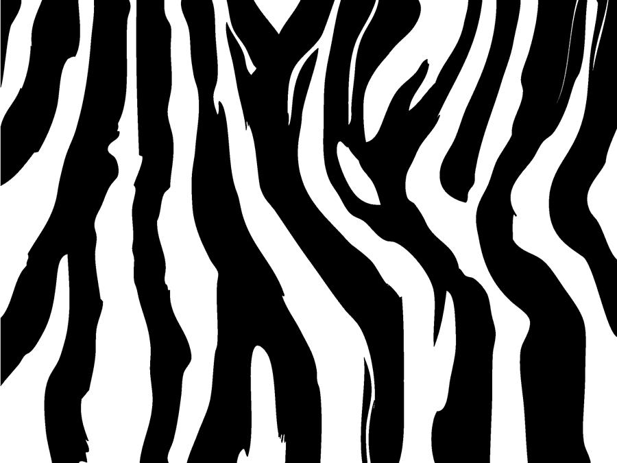 Zebra Digital Art - Zebra Print 001 by Kenneth Feliciano