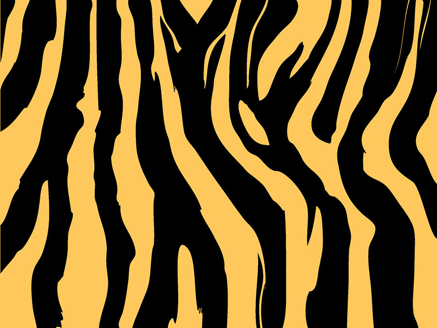 Illustration Digital Art - Zebra Print 005 by Kenneth Feliciano