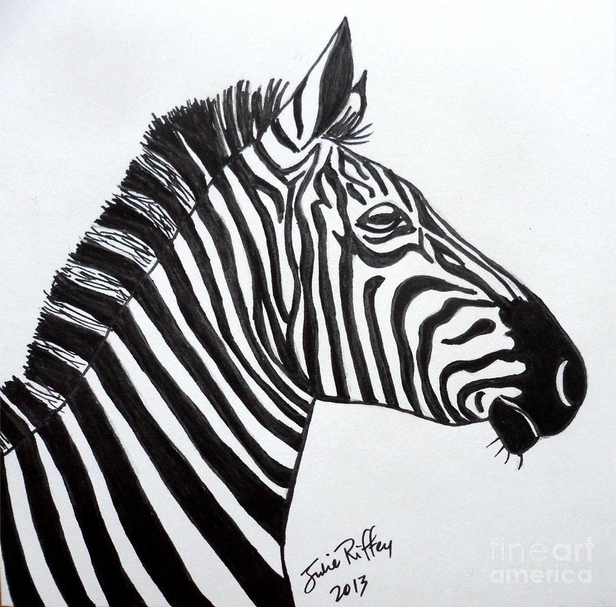 Zebra Profile Pic Draw...