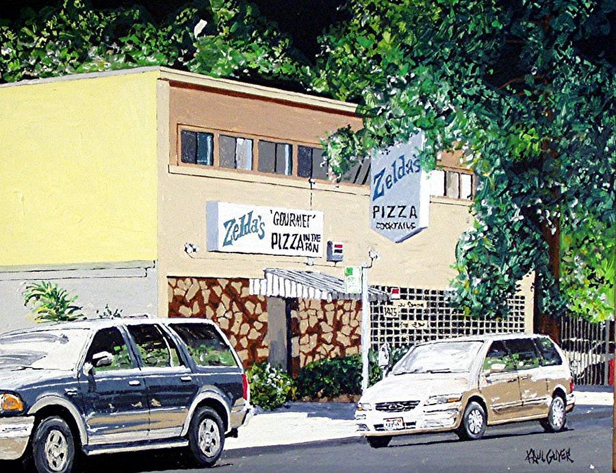 Sacramento Painting - Zeldas No. 1 by Paul Guyer