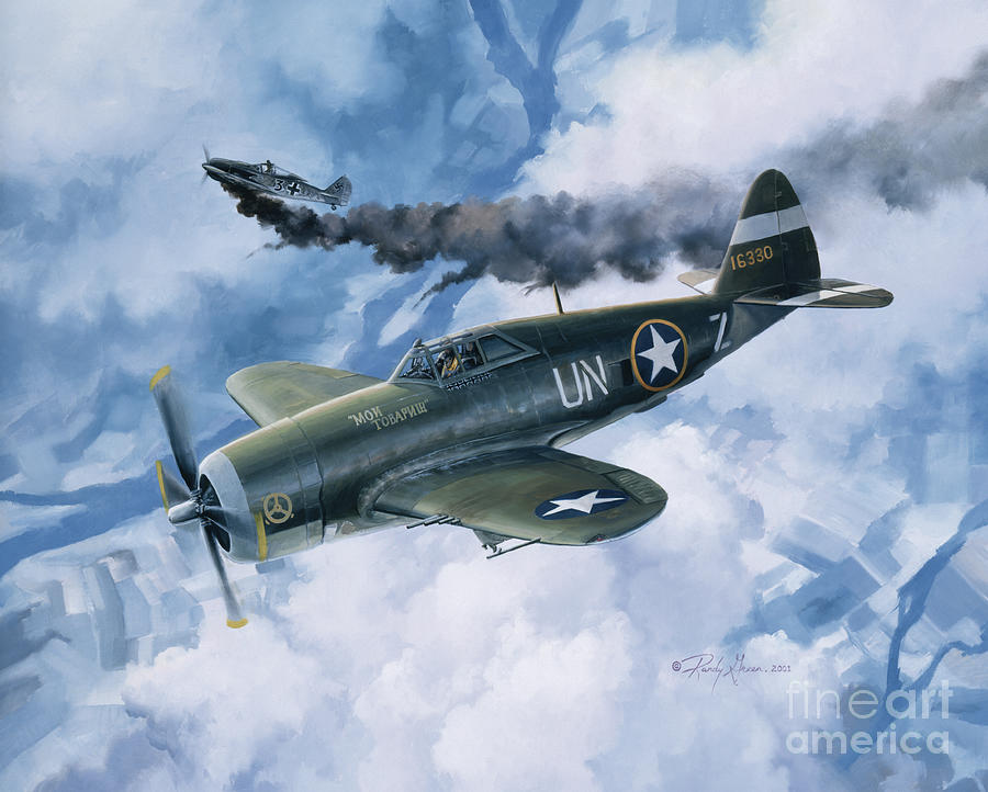 Prints Painting - Zemkes Thunder by Randy Green