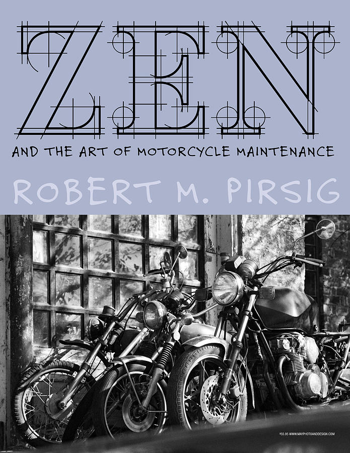 Book Photograph - Zen And The Art Of Motorcycle Maintenance by Keith May