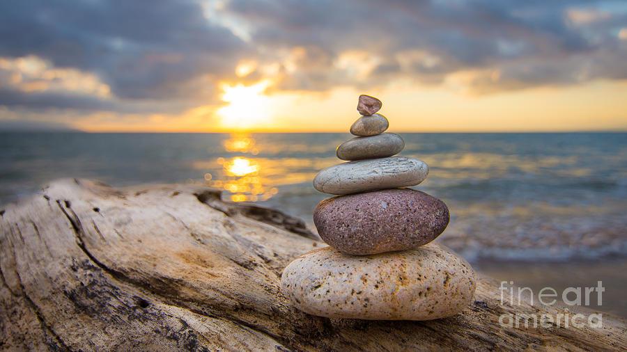 Zen Stones Photograph By Aged Pixel