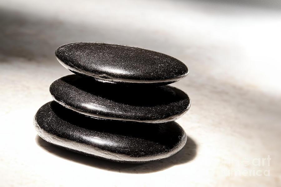 Zen Photograph - Zen Stones by Olivier Le Queinec