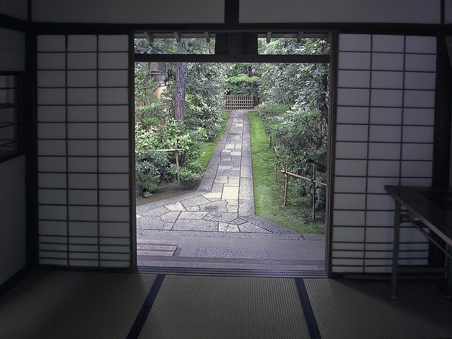Japan Photograph - Zen Tea House Dream by Daniel Hagerman