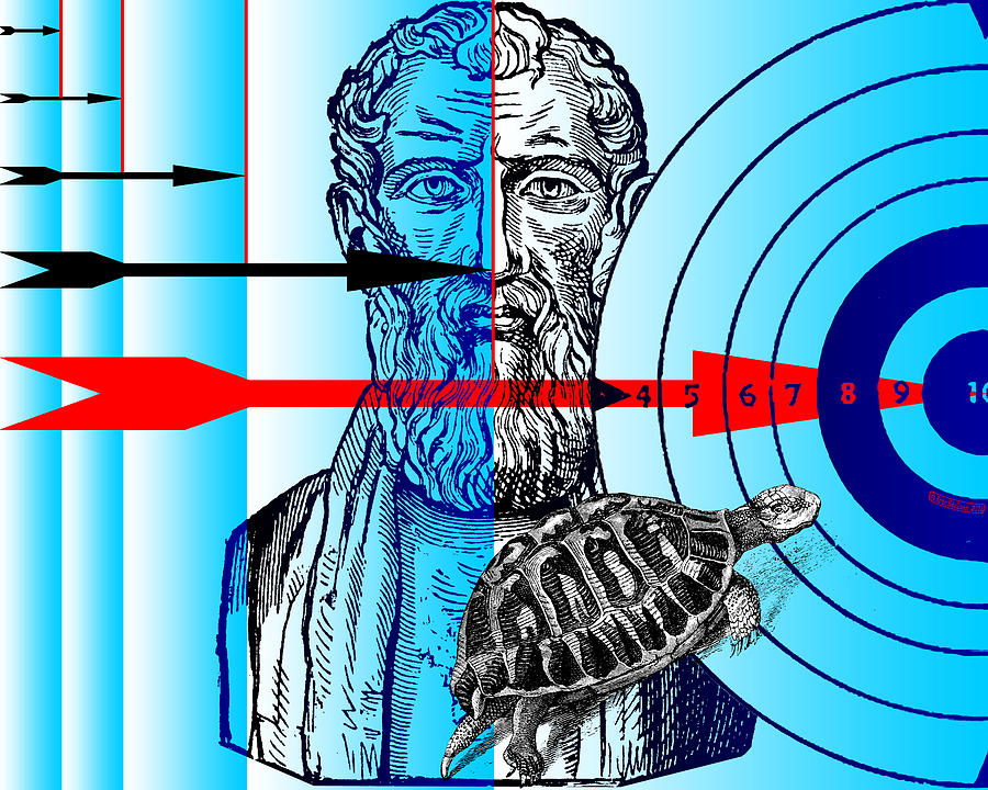 Zeno's Paradoxes by Eric Edelman