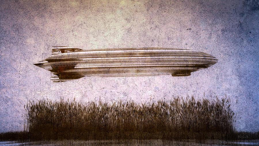 Zeppelin Digital Art - Zeppelin  by Bob Orsillo