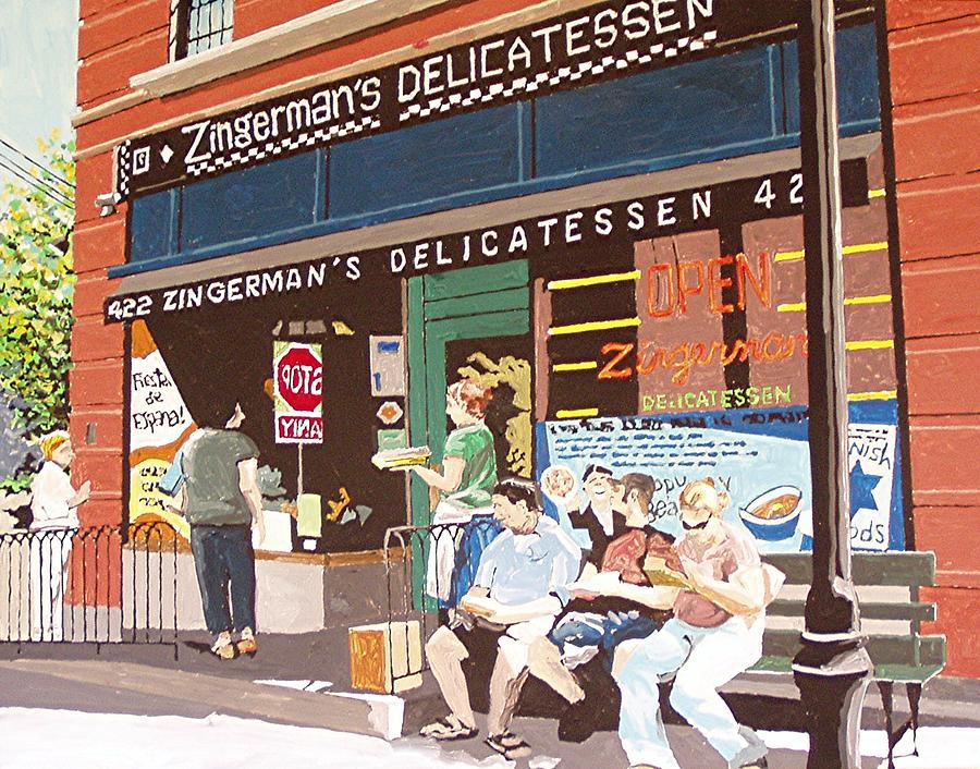 Sacramento Painting - Zingermans by Paul Guyer