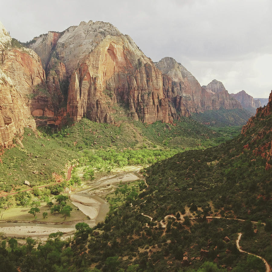 Zion Canyon Photograph by Kevin Russ