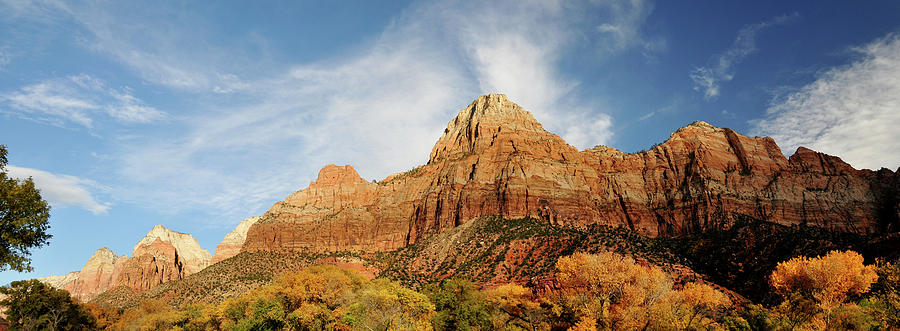 Zion National Park Autumn Photograph by Utah-based Photographer Ryan Houston